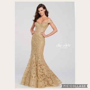 Ellie Wilde fit and flare Gown
